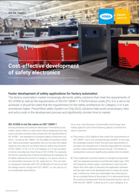 Cost-effective development of safety electronics