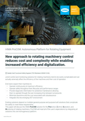 Whitepaper: Reduce the Complexity and Costs of Rotating Machinery